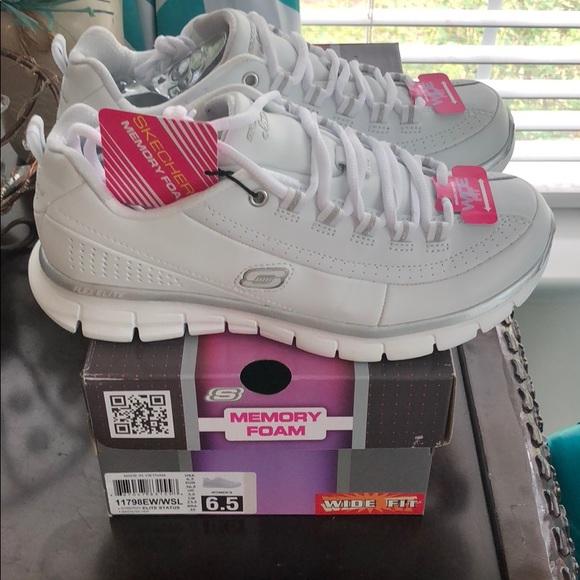 02b40c6823 Skechers Shoes | Sport Synergy Elite Status 65 Wide | Poshmark